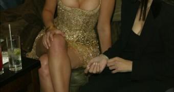 Scarlett Johansson. Feet.