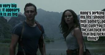 Brie Larson Kong Captions