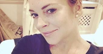 Abspritzhilfen - Lindsay Lohan