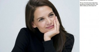 Katie Holmes asks innocent cuckold questions