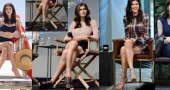 Celebrity Legs Crossed
