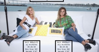 Celebrity Beaver Michalka Sisters