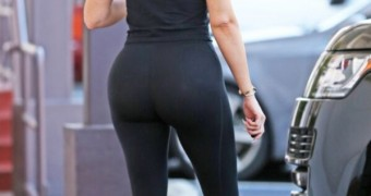 Khloe Kardashian Boot in Yogapants