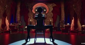 Rihanna pole dancing like a whore