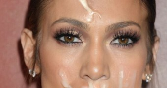 Jennifer Lopez Facial Fake