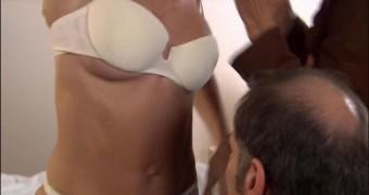 Anke Engelke in underwear and nude