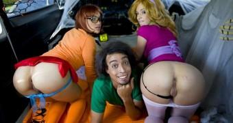 Scooby Doo Cosplay Costume Velma Daphne