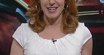 Liz Claman Fox News pokies and boobs