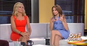Misc Fox News babe upskirts