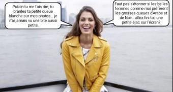 French caption (français) iris Mittenaere miss cul univers