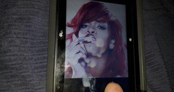 Rihanna Cum Tribute