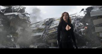 Black Widow Cleavage