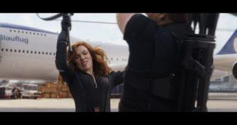 Scarlett Johansson Black Widow Screencaps