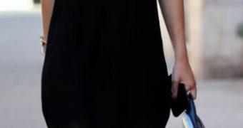 Dakota Fanning Wearing Adidas Sandals