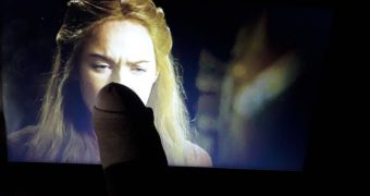 Cersei watches me cum