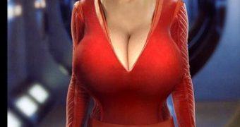 Star Trek BIG BREAST MORPHS Fakes Big Tits Boobs Morph