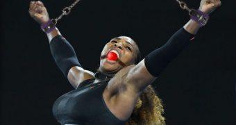 Serena Williams fake