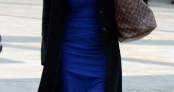 Carole Kirkwood Mature UK Weathergirl in Nude Tights