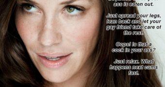 Evangeline Lilly Bi Captions