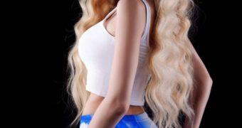 Angelica Kenova. Russian model. Real photos.
