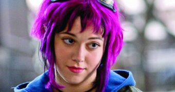 Emo Goth Mary ELizabeth WInstead From Scott Pilgrim