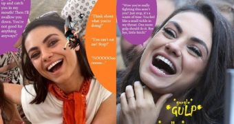 Mila Kunis Femdom Vore Captions