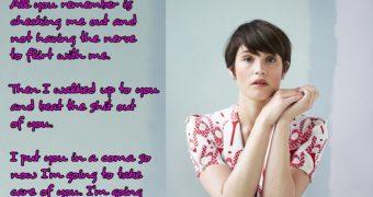 Gemma Arterton Strapon Captions