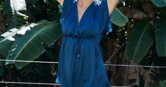 Lena Gercke  Presenting LeGer Bikini Collection