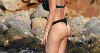 Gemma Atkinson. Thong Bikini