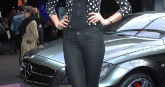Lena Gercke  Mercedes Benz Fashion Week