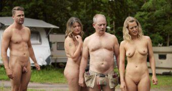 Schauspielerin Antje Koch nackt und rasiert