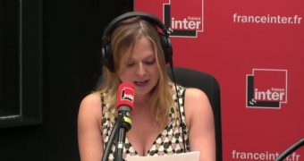Constance Pittard Topless on Radio Show