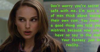 Natalie Portman Captions