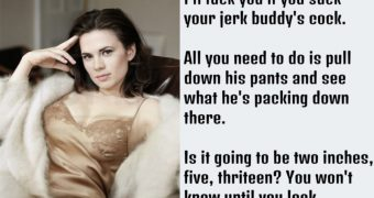 Hayley Atwell Instructions Captions