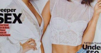 Vanessa Hudgens & Nina Dobrev Share a Load