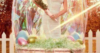 Miley Cyrus Rabbit Shoot