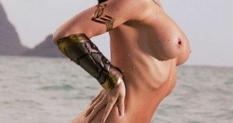Tatiana DeKhtyar - Wonder Woman Beach