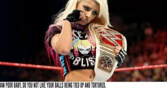 WWE Women Captions (Femdom)