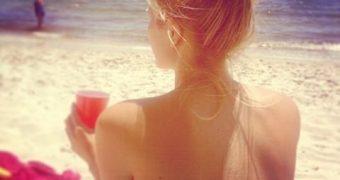 Kristine Leahy Bikini