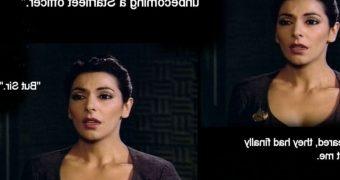 Star Trek Next Generation parody: Troi gets busted