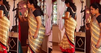 Ramya hot milf saree