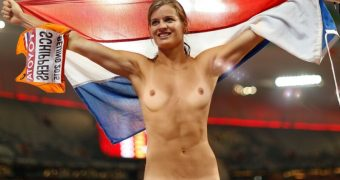 Dafne Schippers nude fake