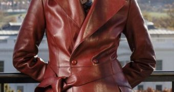 Martha Raddizts - Leather Trench Coat