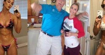 CFND Clothed Father Nude Daughter JENNA FAIL