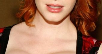Christina Hendricks redheaded whore