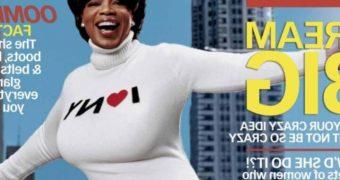 Oprah Winfrey magazine covers by Brickhouse