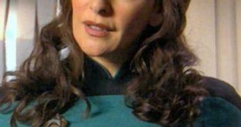 Retro Cleb - Marina Sirtis (Deanna Troi Star Trek)