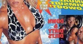 Monica Brant Bikini & Thong Magazine Jerk Challenge