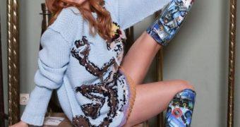 Palina Rojinski - Stiefelsammlung vom Tittengirl