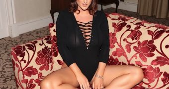 Stacey Poole - Black One Piece